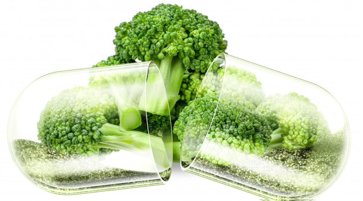 Brokoļu asnu ekstrakts, bagātināts ar sulforafānu